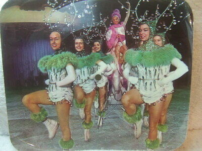 Holiday on Ice – Musical Memories Record Card laminated card Picture Disc 1960s