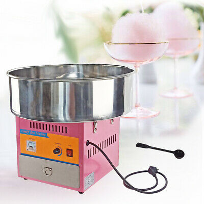 Commercial Electric Cotton Candy Machine 1 KW Sugar Floss Maker Party UK plug