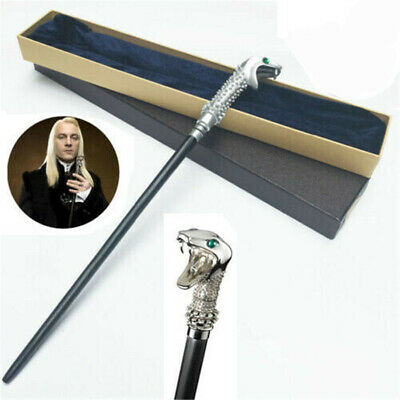 Harry Potter Magic Wand Lucius Malfoy Metal Core Box Halloween Cosplay Prop Gift