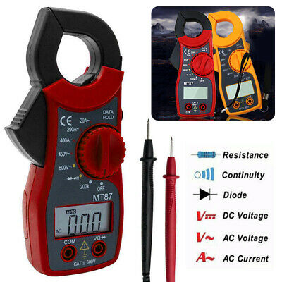 Digital Clamp Meter AC Current Voltage Multimeter Volt Amp Voltmeter Tester