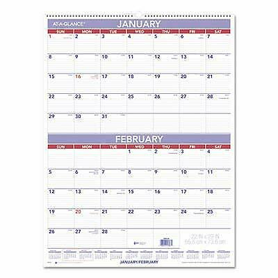AAGPM928 - At-a-Glance Two-Month Wall Calendar