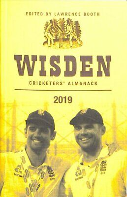 Wisden Cricketers' Almanack 2019 by Lawrence Booth 9781472964045 | Brand New