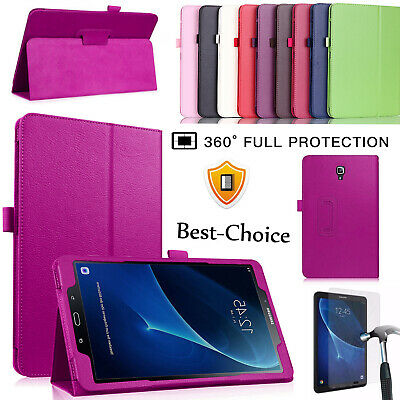 """Samsung Galaxy Tab A6 10.1"""" Inch T580 T585 Leather Stand Case Cover"""
