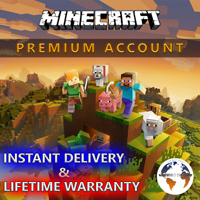 Minecraft Premium PC (Jave Edition Account) Instant delivery