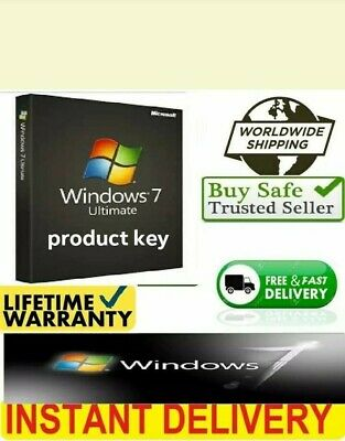 windows 7 Ultimate genuine product  32/64-bit Product Key and  download link