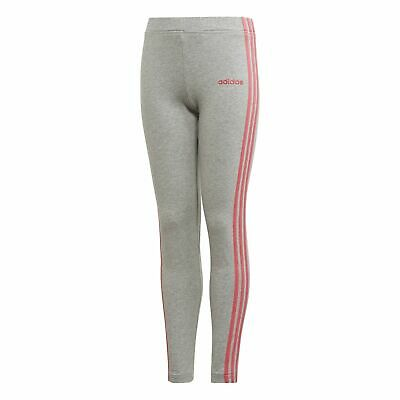 adidas Essentials Mädchen Sport-Trainings-Hose Youth Girls 3S Tight grau