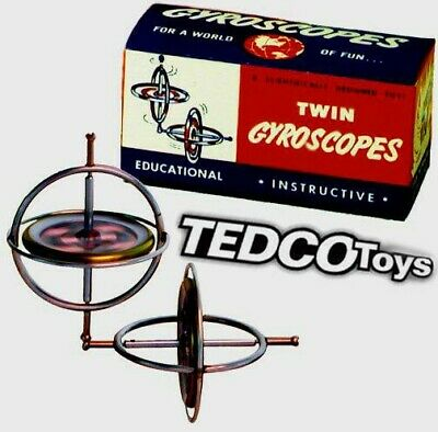 TEDCO The Original Gyroscope Spinning Top Scientific Toys Physics Kids Toys