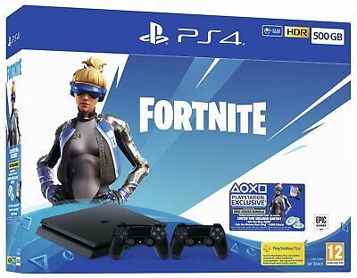 Sony Playstation PS4 500GB with Fortnite Neo Versa Console Bundle