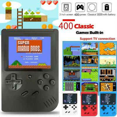 400 In 1 Retro FC Video Game Console 3'' Handheld 8Bit Classic Gaming Player