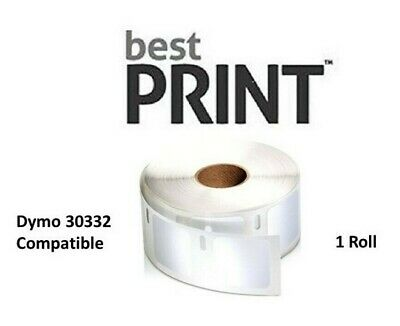 """Best Print 1 Roll Labels 1"""" x 1"""" DYMO Compatible for LabelWriter 30332"""