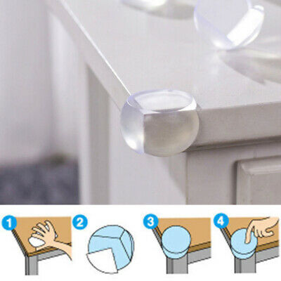 Ball Shape Desk Corner Protector Silicone Guard Baby Safety Table Edge Cushion