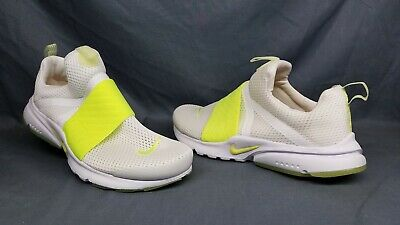 907f0e235aa7e NIKE PRESTO EXTREME (GS) Athletic Sneakers White Volt Boys Size 6 DISPLAY  MODEL!