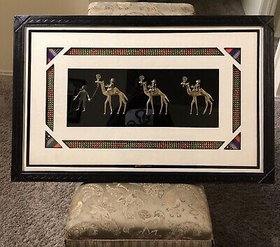 vintage hand made African (Egyptian) picture