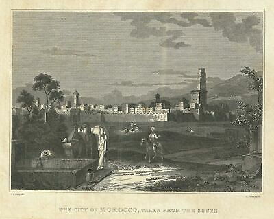 1828 Craig View of Morocco, North Africa
