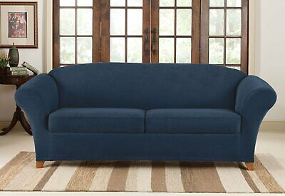 Super Sure Fit Mainstay Stretch Select Corduroy Sofa Slipcover In Camellatalisay Diy Chair Ideas Camellatalisaycom