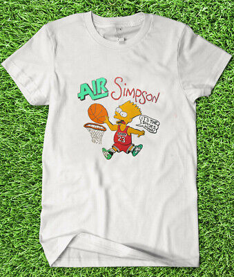 Vintage BART SIMPSON AIR Simpson The Simpsons Shirt GILDAN REPRINT