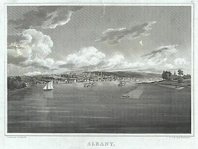 1828 Smith View of Albany, New York
