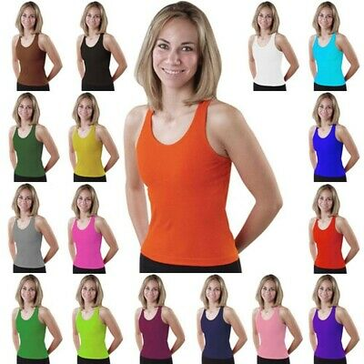 Pizzazz Girls Royal Blue Racerback Dance Cheer Tank Top Shirt 14-16