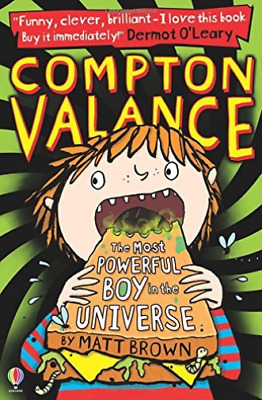 Brown, Matt-Most Powerful Boy In The Universe BOOK NEW