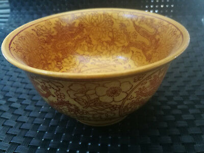EXQUISITE China Old HAND-MADE porcelain Pastel  Porcelain  bowl Gift