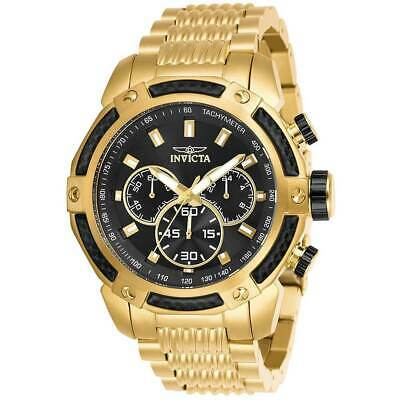 Invicta 26475 Men's Speedway Yellow Gold Bracelet Chronograph Watch