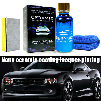 1X Liquid Nano Ceramic Car Glass Coating 9H Hydrophobic Anti-scratch Polish 30ML
