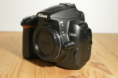Nikon D5000 Dslr Camera With 8Gb Sd, Manual, Strap, Charger & Battery