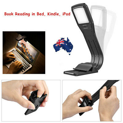 4 Level Dimmable USB Rechargeable Reading Lamp Clip  Eye Care   for Book Reading