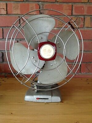 Vintage Revelair Oscillating 3 Speed Fan With Metal Blades, Fans, Collectable