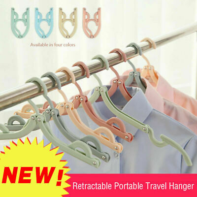5/10PCS Retractable Portable Travel Hanger - 2019 New Best Offer UK