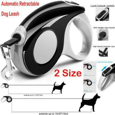 Automatic Retractable Dog Leash Heavy Duty Dog Traction Rope Walking Leads 3m 5m