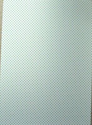 10 Sheets A4 Green Spots on White Card 240gsm NEW