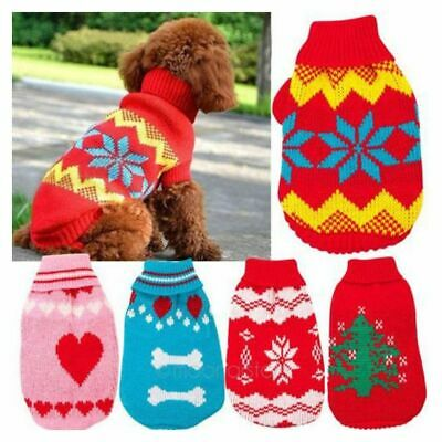 Lovely Cat Dog Hoodie Comfortable Apparel Sweater Pet Clothes Knitwear