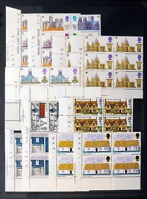 GB Selection of U/M Pre-Decimal Cyl Blocks on 3 Pages BE510