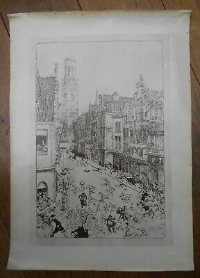 Bruges, Menace From The Sky, Early 20th Century?