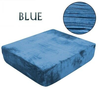 Plush Sofa Cushion Cover Stretch Fleece Couch Case Furniture Universal Protector