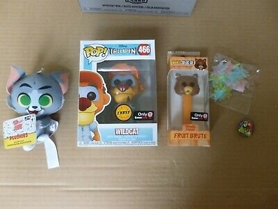 Gamestop Funko Disney Afternoon 2018 Mystery Box W Tailspin Wildcat Chase Pop!