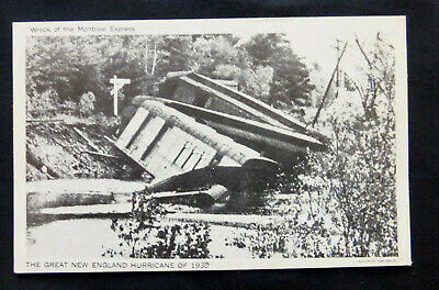 Great Hurricane of 1938, Wreck of Montreal Express
