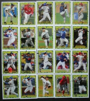 2019 Topps Archives Future Stars Baseball Cards Complete Your Set U Pick 1-25