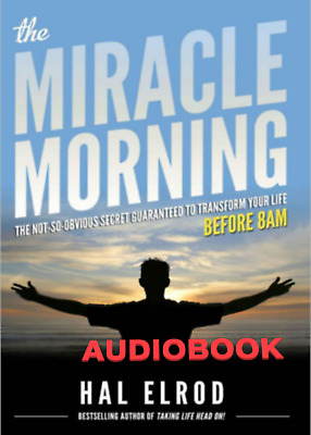[AudioBoook] The Miracle Morning by Hal Elrod - mp3