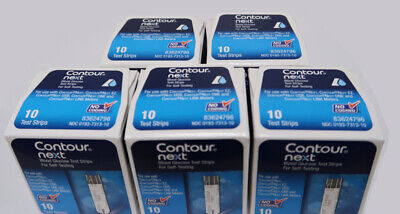 Bayer Contour Next Blood Glucose Test Strips 50 Strips Total  EXP: 3 / 2021