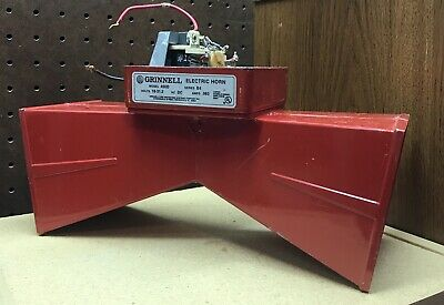 Grinnell Simplex Vintage School Fire Alarm Electric Horn