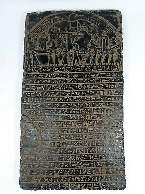 Rare Egyptian Antiques Stela Stele Stelae Votive Paintings