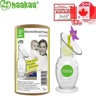 Silicone Breast Pump with Updated Suction Base Super Soft Comfortable and Safe