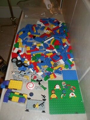 Small  size LEGO  by the Pound - 1+ LB POUND OF LEGOs mixed pieces + tires,cars