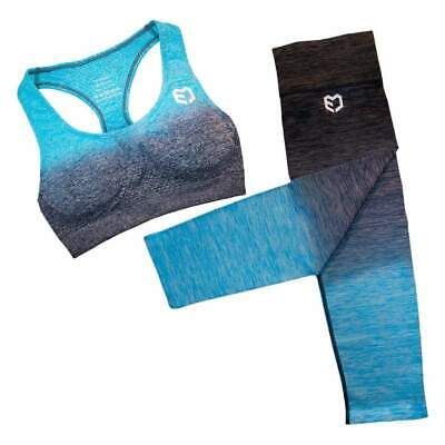 Fusion Seamless Combo - Blue Envy- Fitness - Yoga - Gym - Exercise