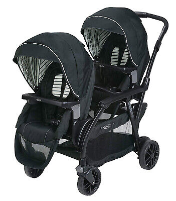 Graco Baby Modes Duo One-Hand Fold Twin Tandem Double Stroller Holt NEW