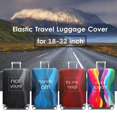 """18-32"""" Elastic Luggage Cover Suitcase Dustproof Case Bag Protector Anti Scratch"""