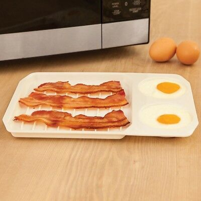 3 x Sealapack Pack Of 4 Bacon Crispers Microwave Bacon Crisp Healthy Cook Sheet