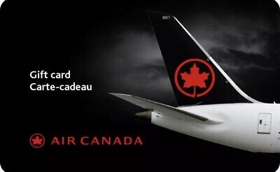 Air Canada Git Card = $500 Mail Delivery